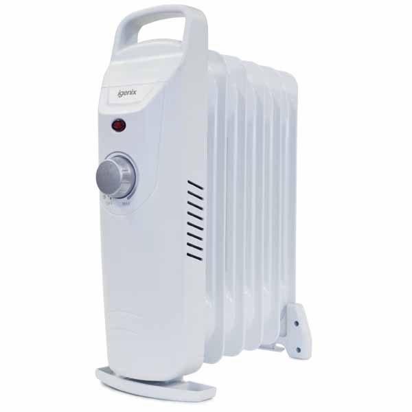 Small Oil Filled Radiator – Igenix IG0500
