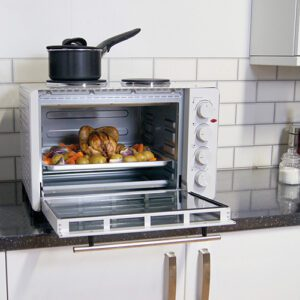 Electric Mini Oven, Double Hotplates