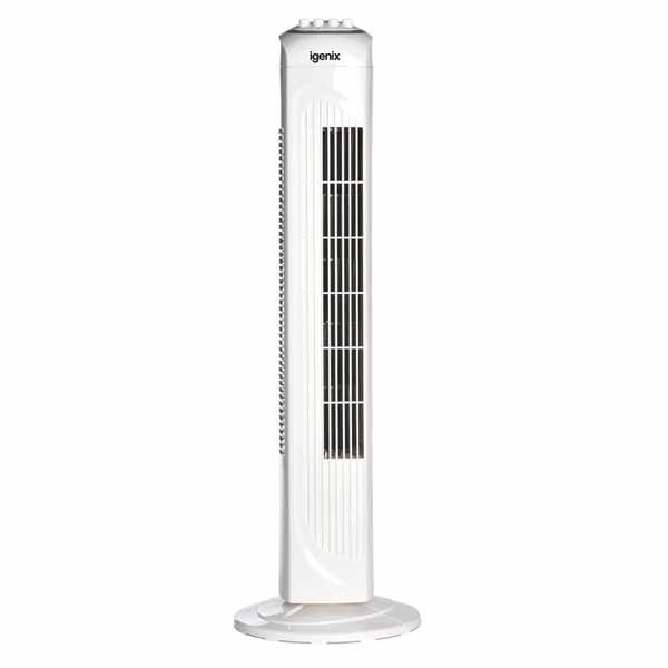 Tall White Fan – Igenix DF0030