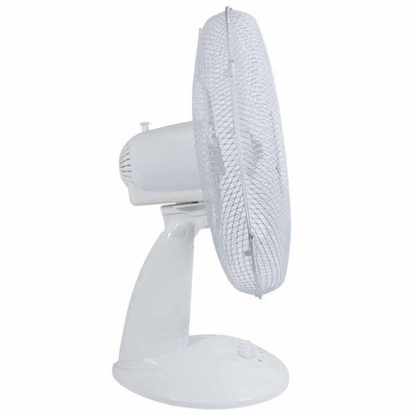 White Desk Fan – Igenix DF1610