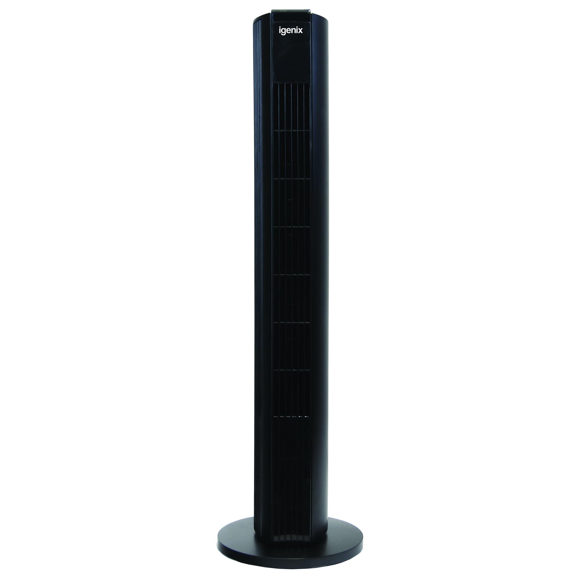 black digital tower fan DF0039BL