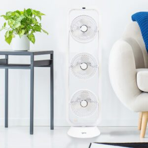 white tower air circulator fan DF0050